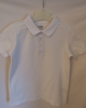 White Short Sleeved Polo Shirt (M&S)