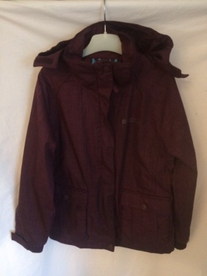 Burgandy Hooded Jacket (Mountain Warehouse)