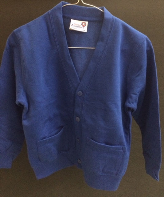 Blue Cardigan (AWD Academy)