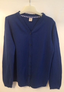 Blue Cardigan (Sainsbury)